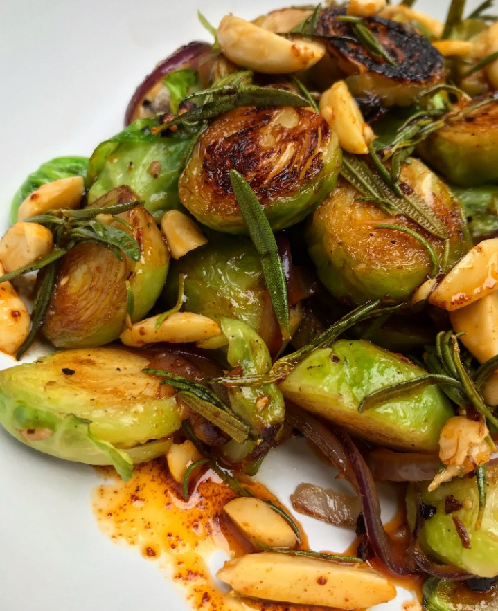 Paprika & Rosemary Brussel Sprouts