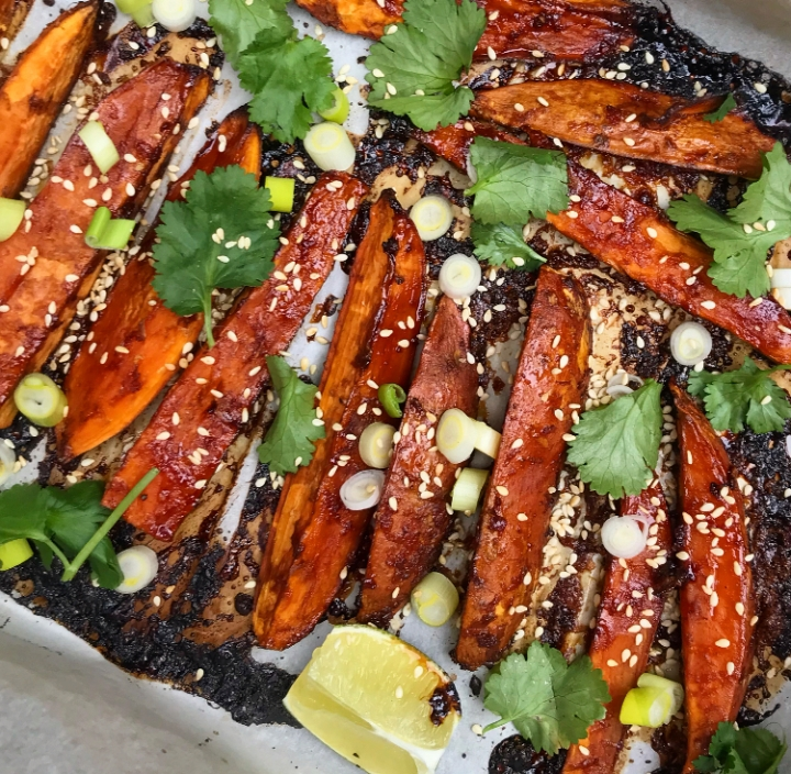 Sticky & Sweet Wedges